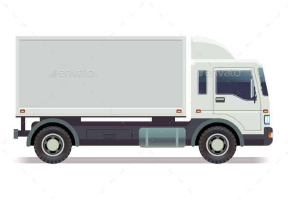 Small Truck - Man-made Objects Objects