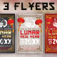 3 Chinese Lunar New Year Flyers - GraphicRiver Item for Sale