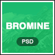 Bromine - Online Learning Platform PSD template Nulled