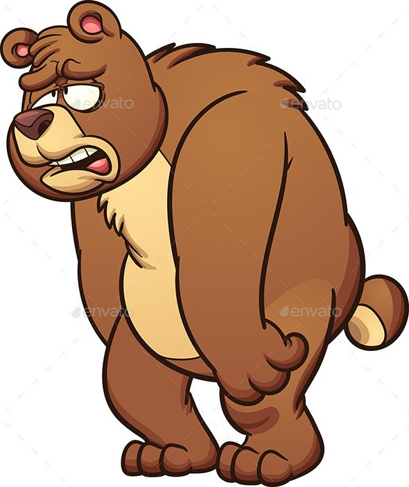 Sad bear by memoangeles graphicriver sad bear voltagebd Choice Image