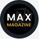 Max Magazine - News & Blog HTML Template - ThemeForest Item for Sale