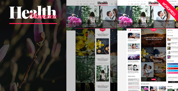 HealthMag - Multipurpose News/Magazine WordPress Theme - Blog / Magazine WordPress