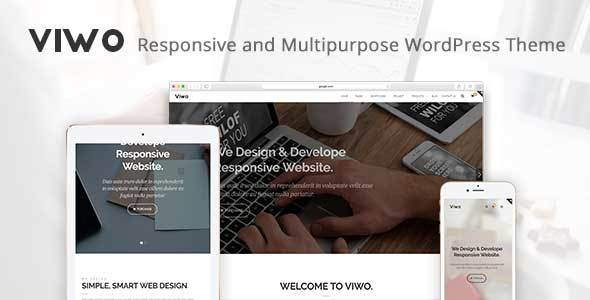 Viwo – Responsive and Multipurpose Theme