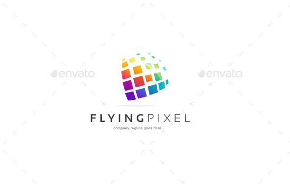 The Pixel Logo