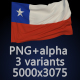 Flag of Chile - 3 Variants - GraphicRiver Item for Sale