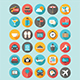 30 Flat Icons Traveling Nulled