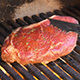 Ribeye Steak roasted on the Grill Barbecue - VideoHive Item for Sale