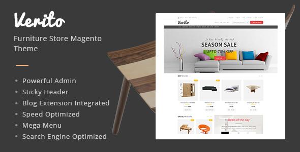 Verito – Furniture Store Responsive Magento Theme
