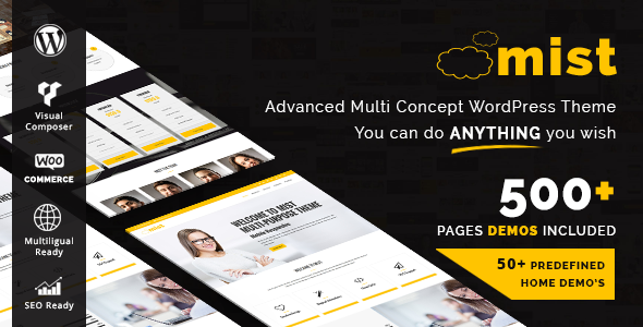 Mist - Advanced Multi-Concept Theme - Business Corporate