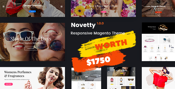 Novetty – Fastest & Most Customizable Magento 2 Theme