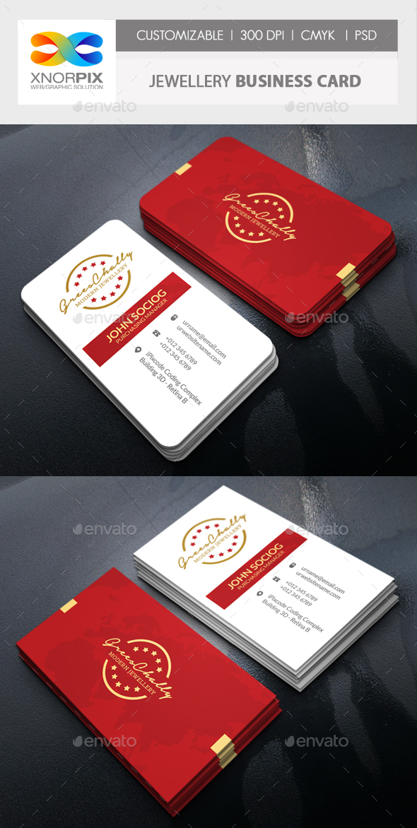 Jewelry Business Card - Corporate Business Cards