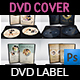 Wedding DVD Cover and Label Template Bundle Vol.2