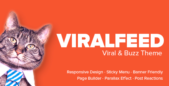 ViralFeed – Viral & Buzz WordPress Theme