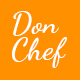 Don Chef - Template PSD Resturant Nulled