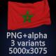 Flag of Kingdom of Morocco - 3 Variants - GraphicRiver Item for Sale