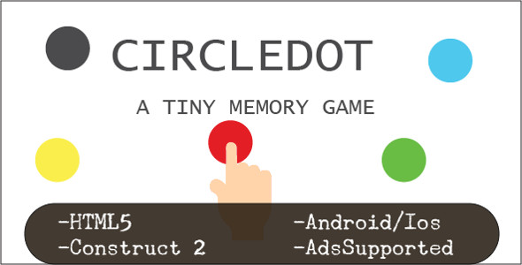 CircleDot (HTML5 Game + Construct 2 CAPX) - CodeCanyon Item for Sale