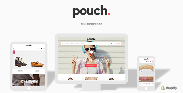 Image of Pouch - Responsive Drag and Drop Shopify Theme