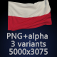 Flag of Poland - 3 Variants - GraphicRiver Item for Sale