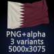 Flag of Qatar - 3 Variants - GraphicRiver Item for Sale