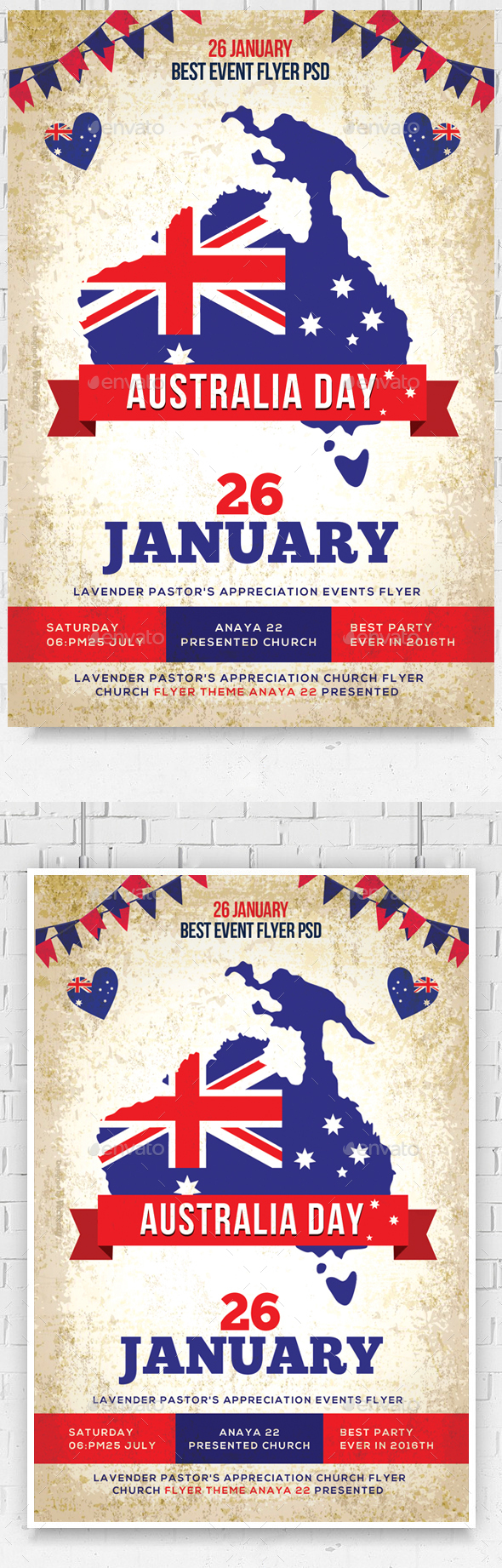 Australia Day Party Flyer - Events Flyers