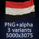 Flag of Yemen - 3 Variants - GraphicRiver Item for Sale