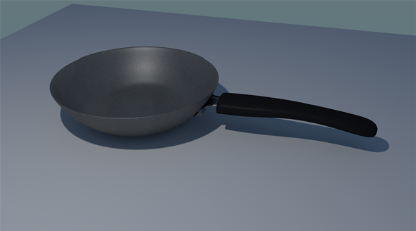 Frying Pan - 3DOcean Item for Sale