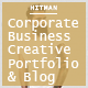 Hitman - Responsive Corporate, Business, Creative , Portfolio and  Blog Template