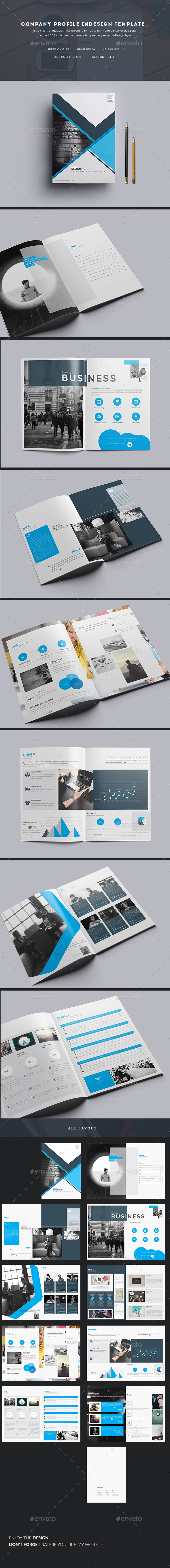 Company profile indesign template by addaxx graphicriver company profile indesign template corporate brochures pronofoot35fo Gallery