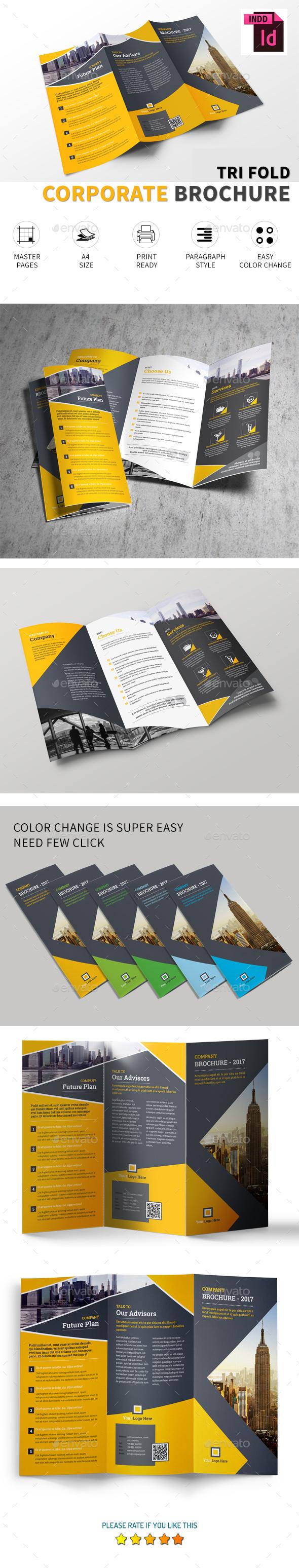 Corporate Tri-fold Brochure Vol.1 - Corporate Brochures