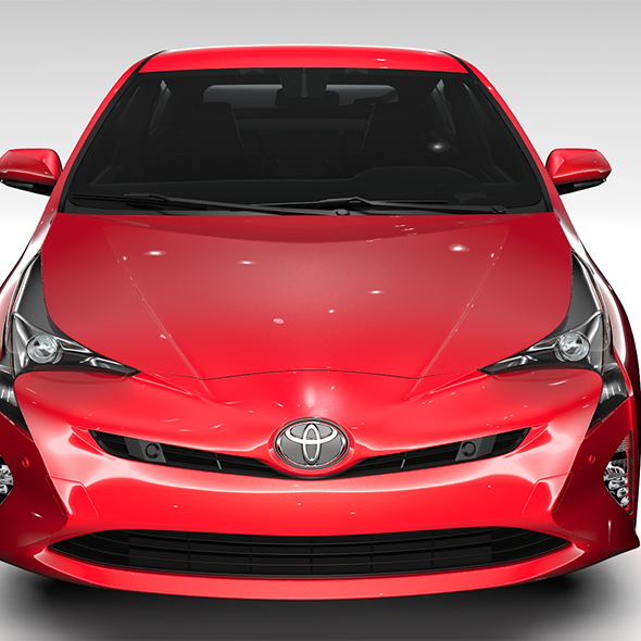 Toyota Prius Flying 2017 - 3DOcean Item for Sale
