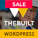TheBuilt - Construction, Architecture & Building Business WordPress theme Nulled