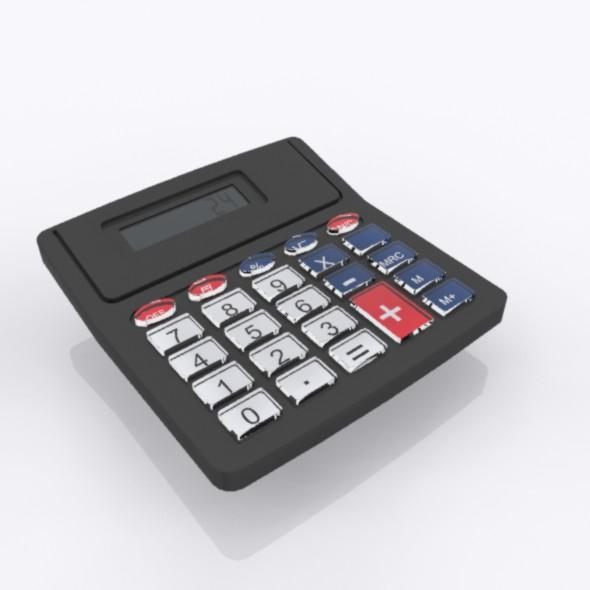 Calculator - 3DOcean Item for Sale