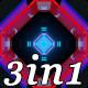 Neon Gate - VJ Loop Pack (3in1) - VideoHive Item for Sale