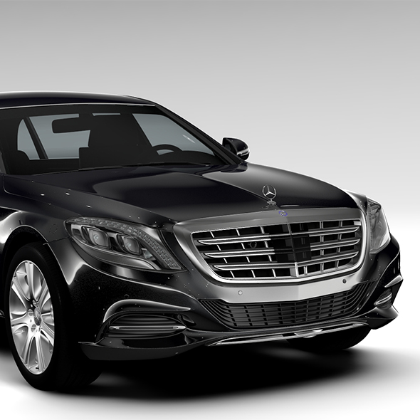 Mercedes Maybach Pullman Guard 2017 - 3DOcean Item for Sale