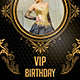 Vip birthday - GraphicRiver Item for Sale
