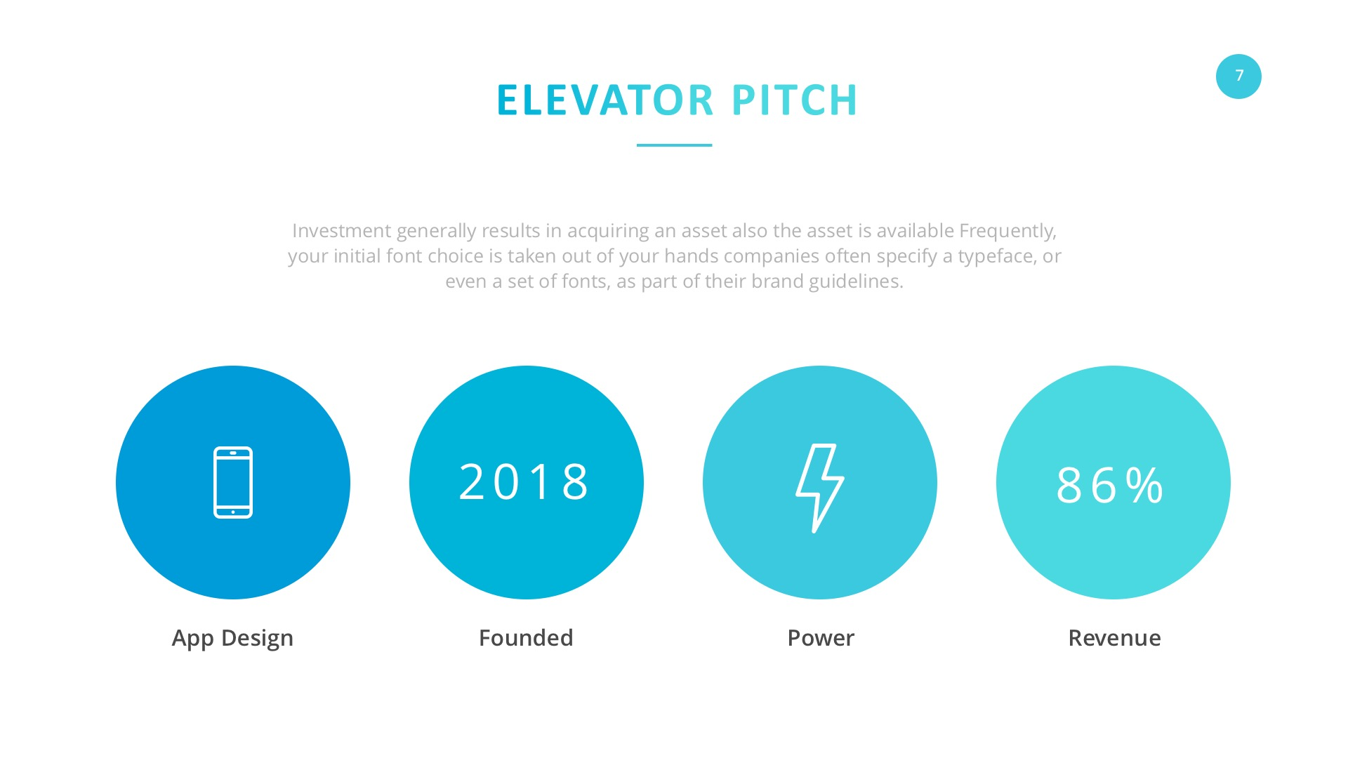 startup company pitch deck powerpoint template by slidefusion