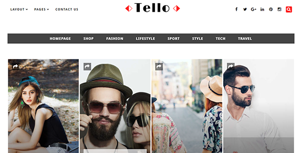 Tello - WordPress Magazine/Blog Theme