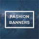 Fashion Banners vol. 2 - GraphicRiver Item for Sale
