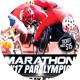 Marathon Paralympics 2K17 Sports Flyer