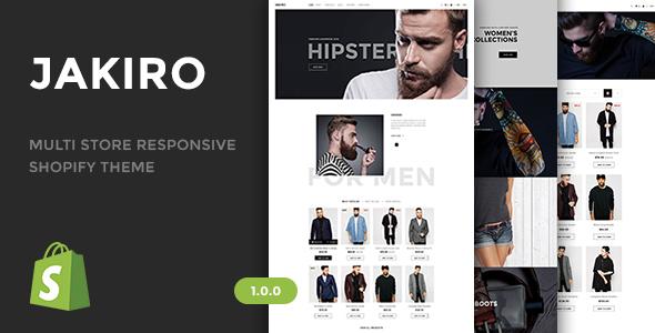 Jakiro – Multi Store Responsive Shopify Theme