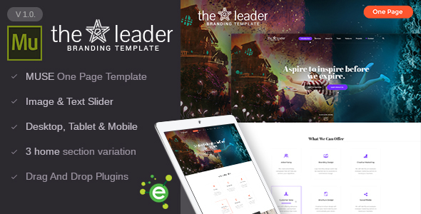 The Leader – Creative Business Muse Template