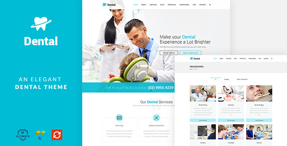 Dental Health – Dentist Clinic Medical WP theme