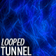 Blue Energy Tunnel - VideoHive Item for Sale