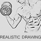 Realistic Drawing Ps Action - GraphicRiver Item for Sale