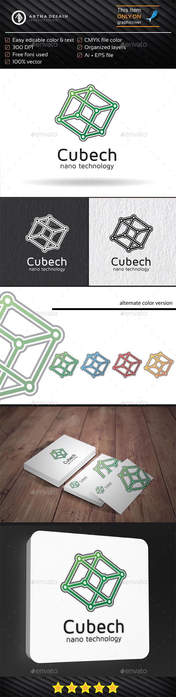 Cube Technology - Logo Template