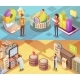 Data Analysis Isometric Banners - GraphicRiver Item for Sale