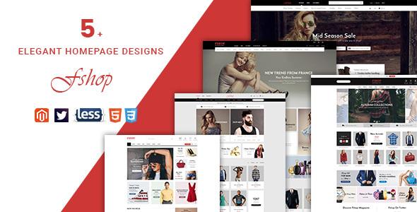 Fshop – Responsive Magento 2 Fashion Store Theme