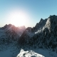 Mountains in Snow at Sunset - VideoHive Item for Sale