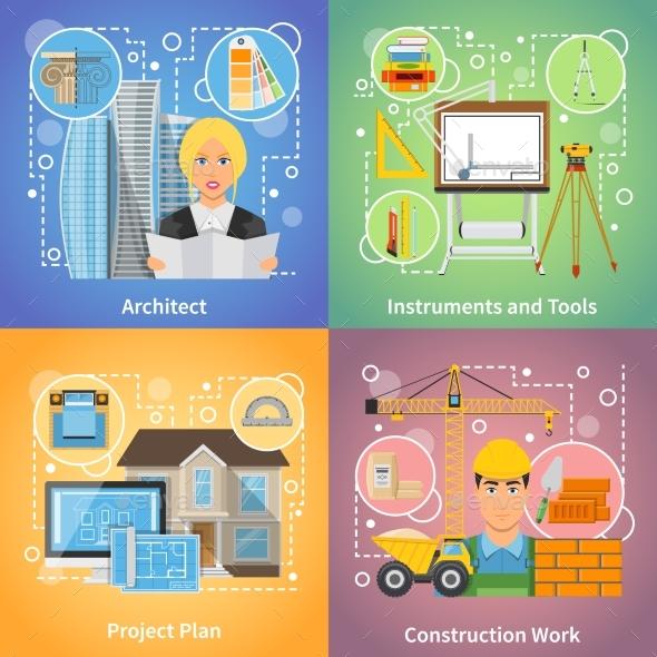 Architect 2X2 Design Concept - Buildings Objects
