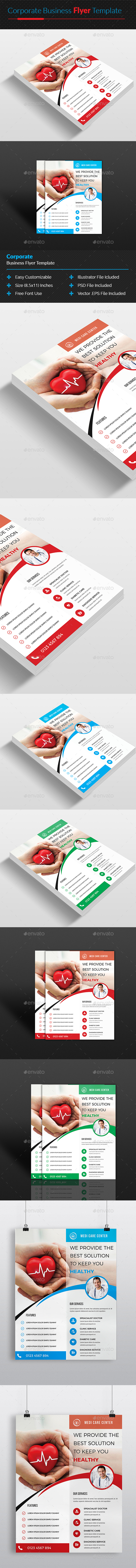 Medical & Doctors Flyer Template - Corporate Flyers